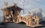 Что производят из дерева – универсальный конструкционный материал как для строительства домов и бань, так и для изготовления поделок и мебели своими руками