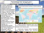 Где выращивают пшеницу в россии – Где в России выращивают ячмень; пшеницу; рис; сахарную свеклу; хлопок? Какие условия этому способствуют? Заранее спасибо