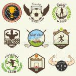 Картинки спортивные логотипы – ᐈ Спортивные логотипы в — векторные изображения, рисунок спорта логотип > скачать на Depositphotos®