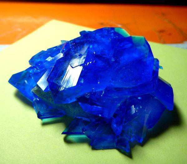 Голубой кристалл попасть